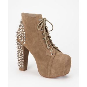 Jeffrey Campbell Suede Spiked Lita Boot